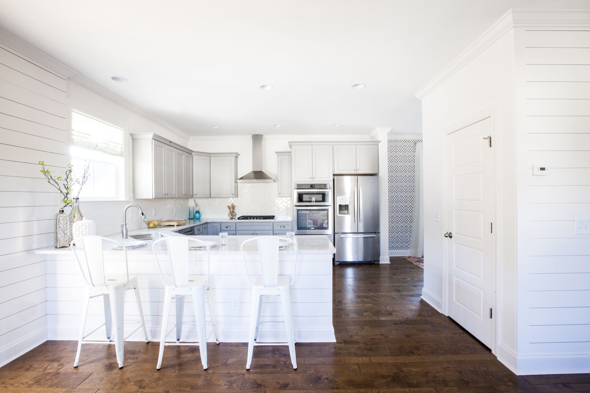 Kitchen of a new home in Crescent Homes development the Abbey