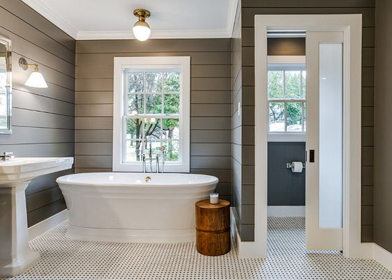 Bathroom Design Trend: Penny Tile