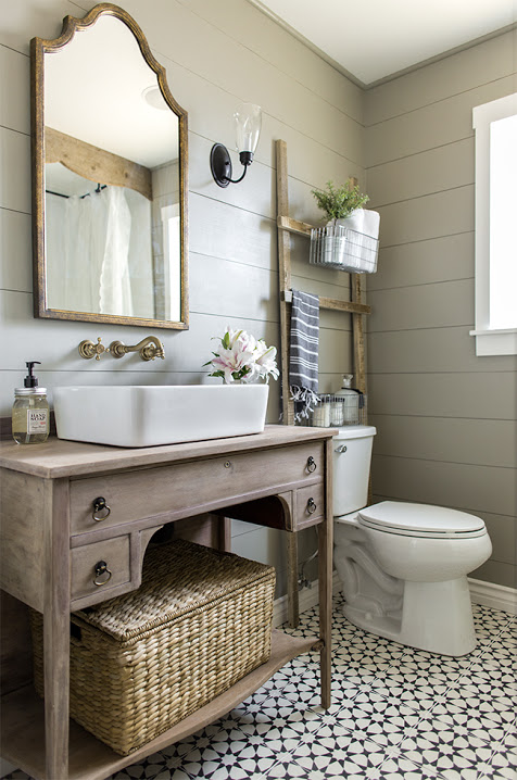 Bathroom Design Trend: Shiplap