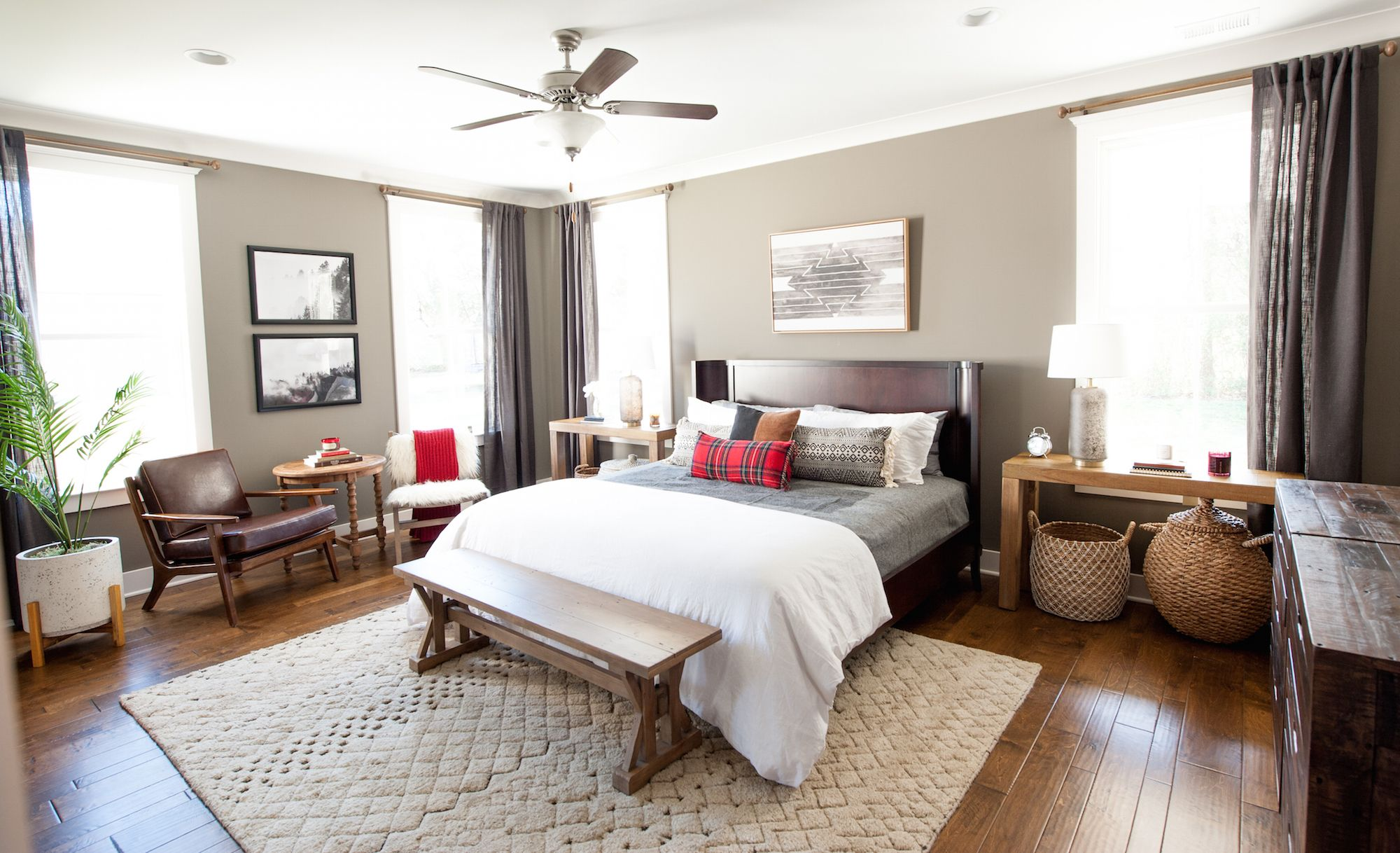 Primm Springs Model Home Bedroom in Nashville