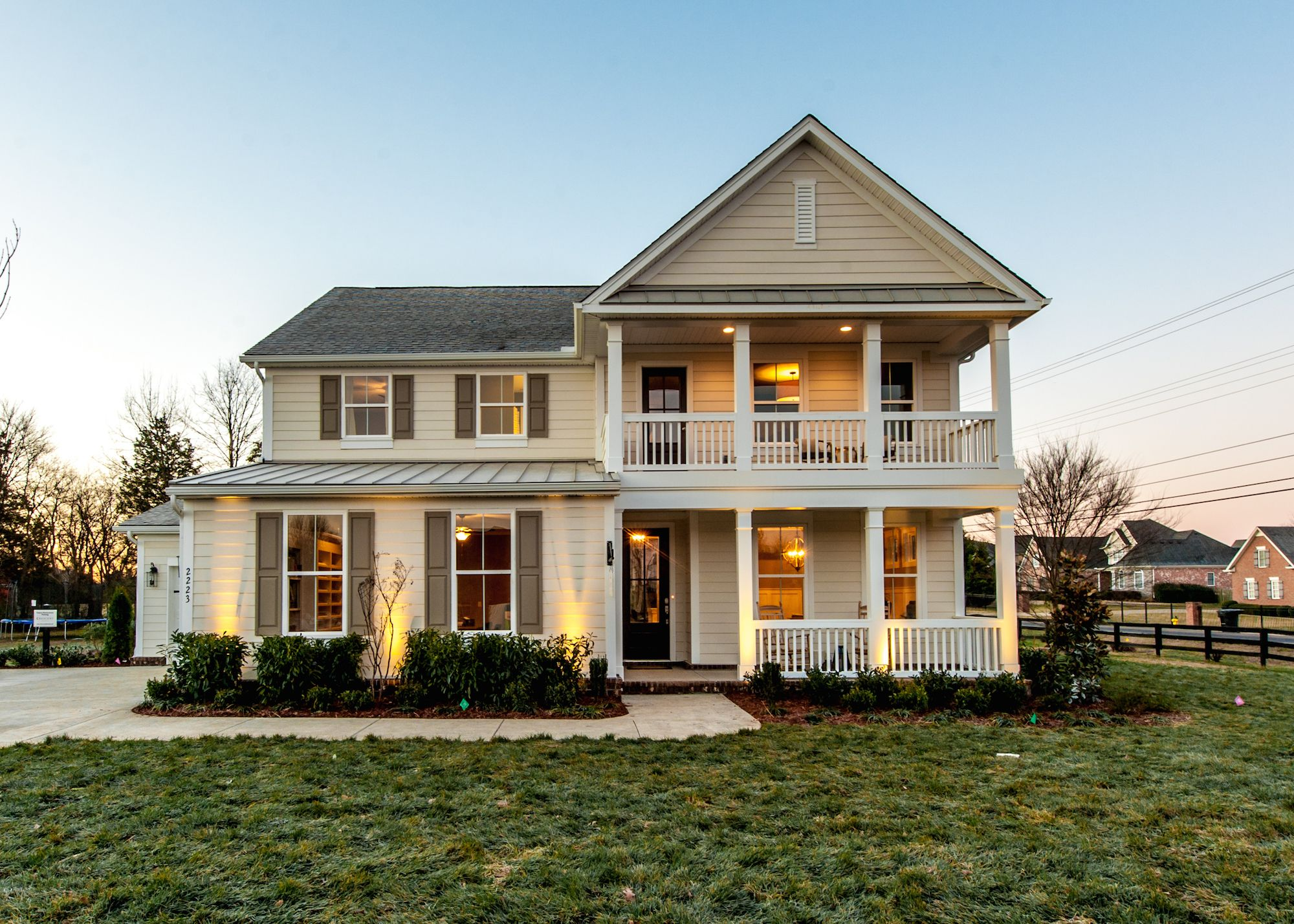 Primm Springs Model Home in Nashville