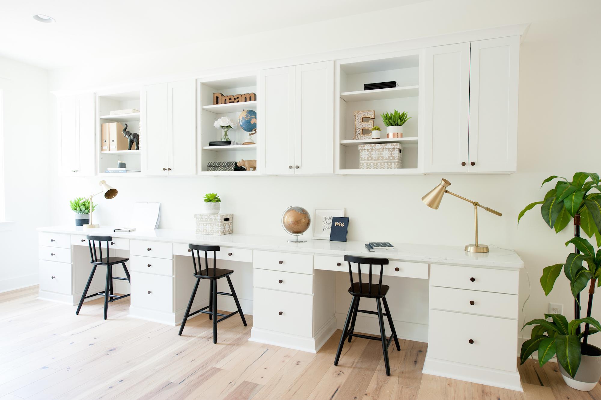 Crescent Homes Covington custom homework station