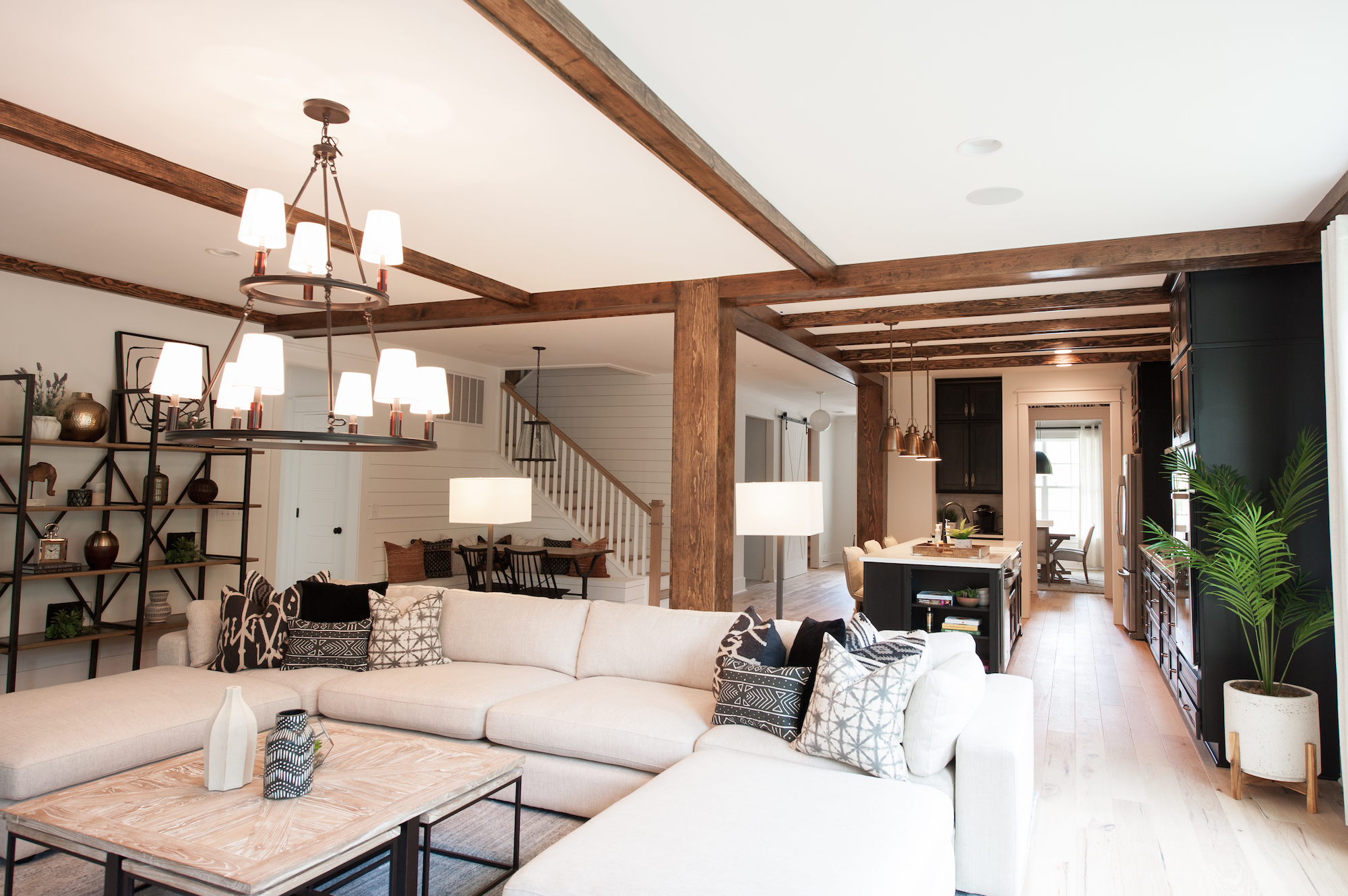 Crescent Homes Covington open floor plan