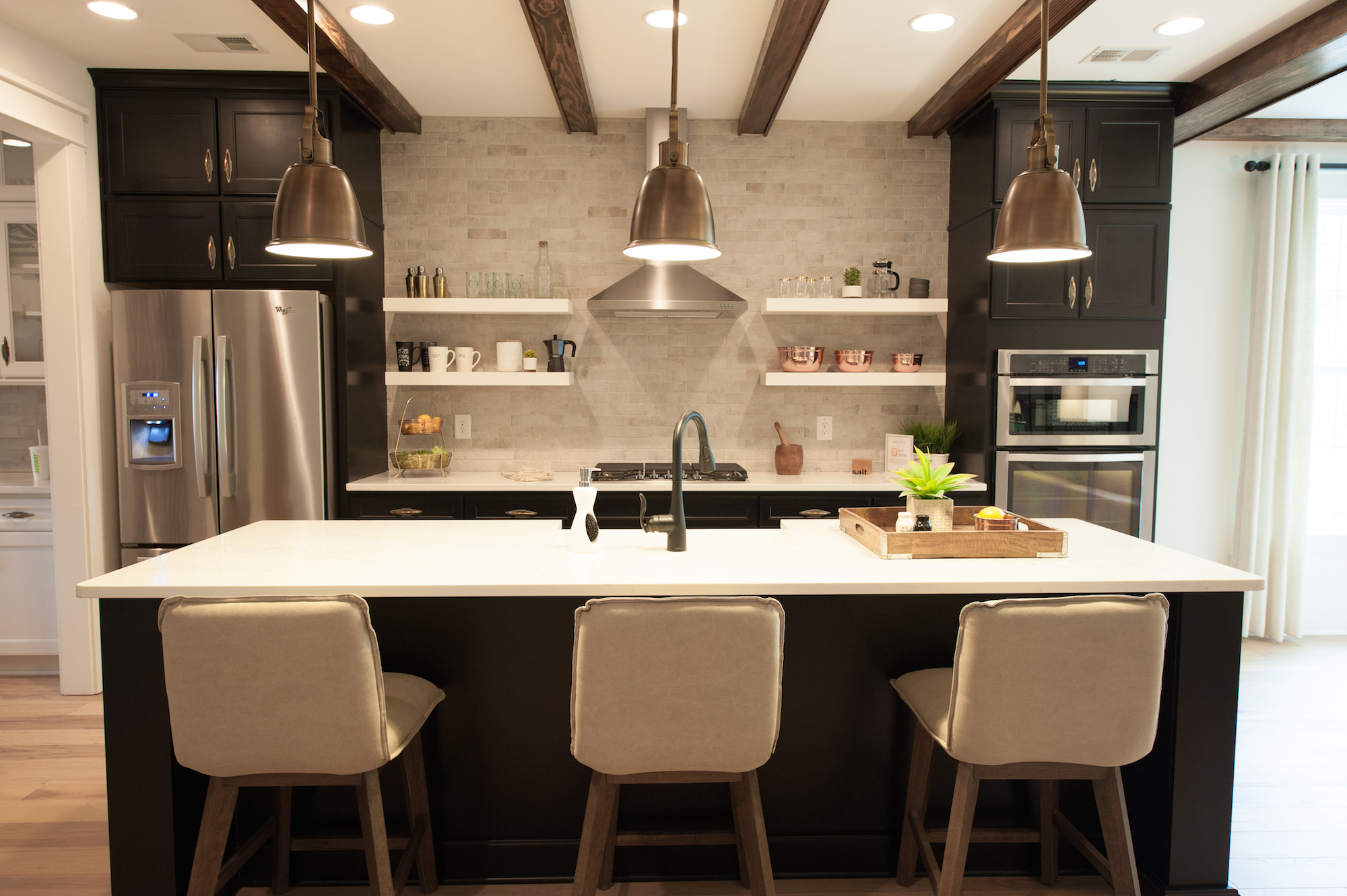 Crescent Homes Covington new construction kitchen