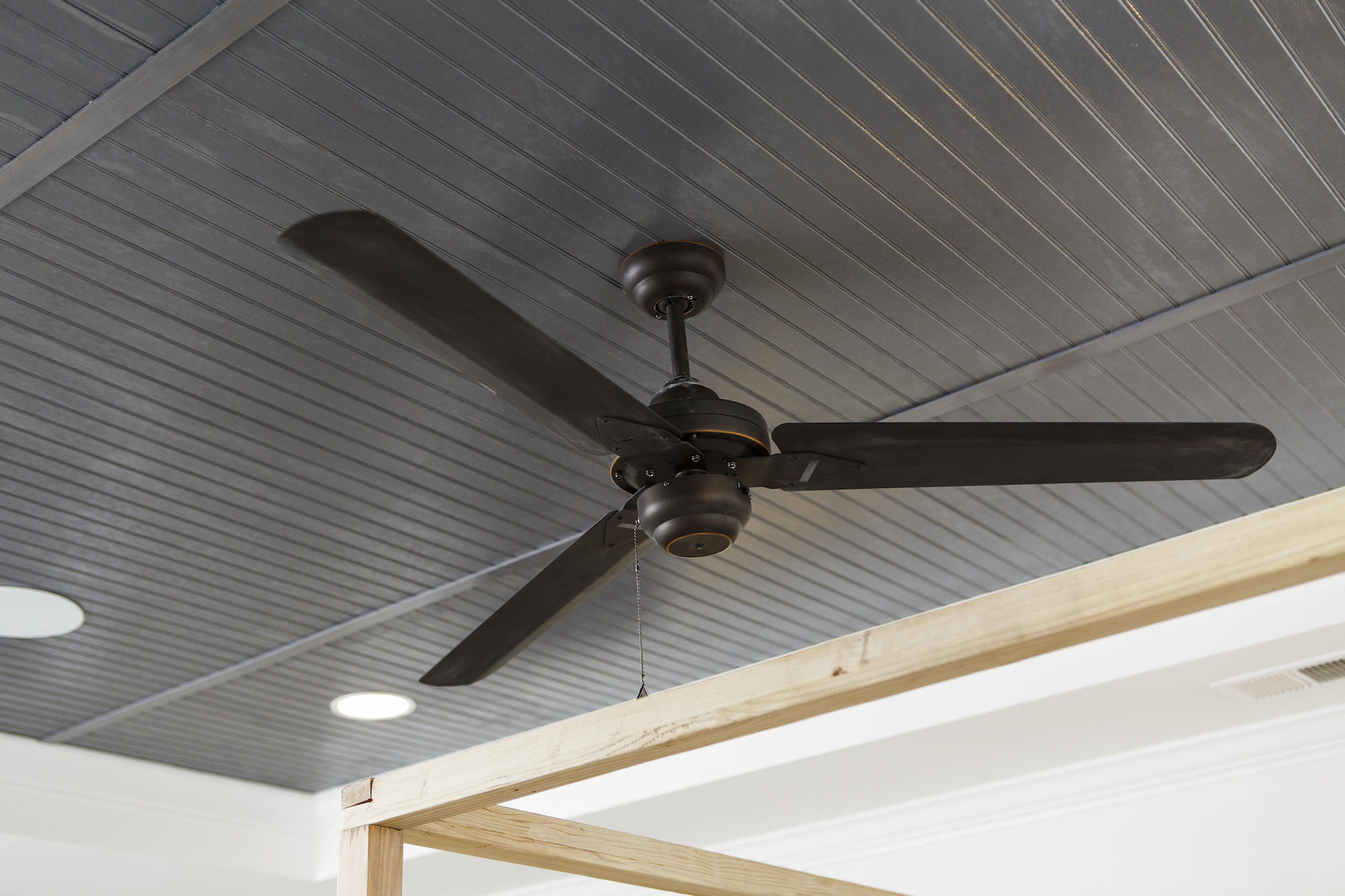 Crescent Homes Beadboard Ceiling