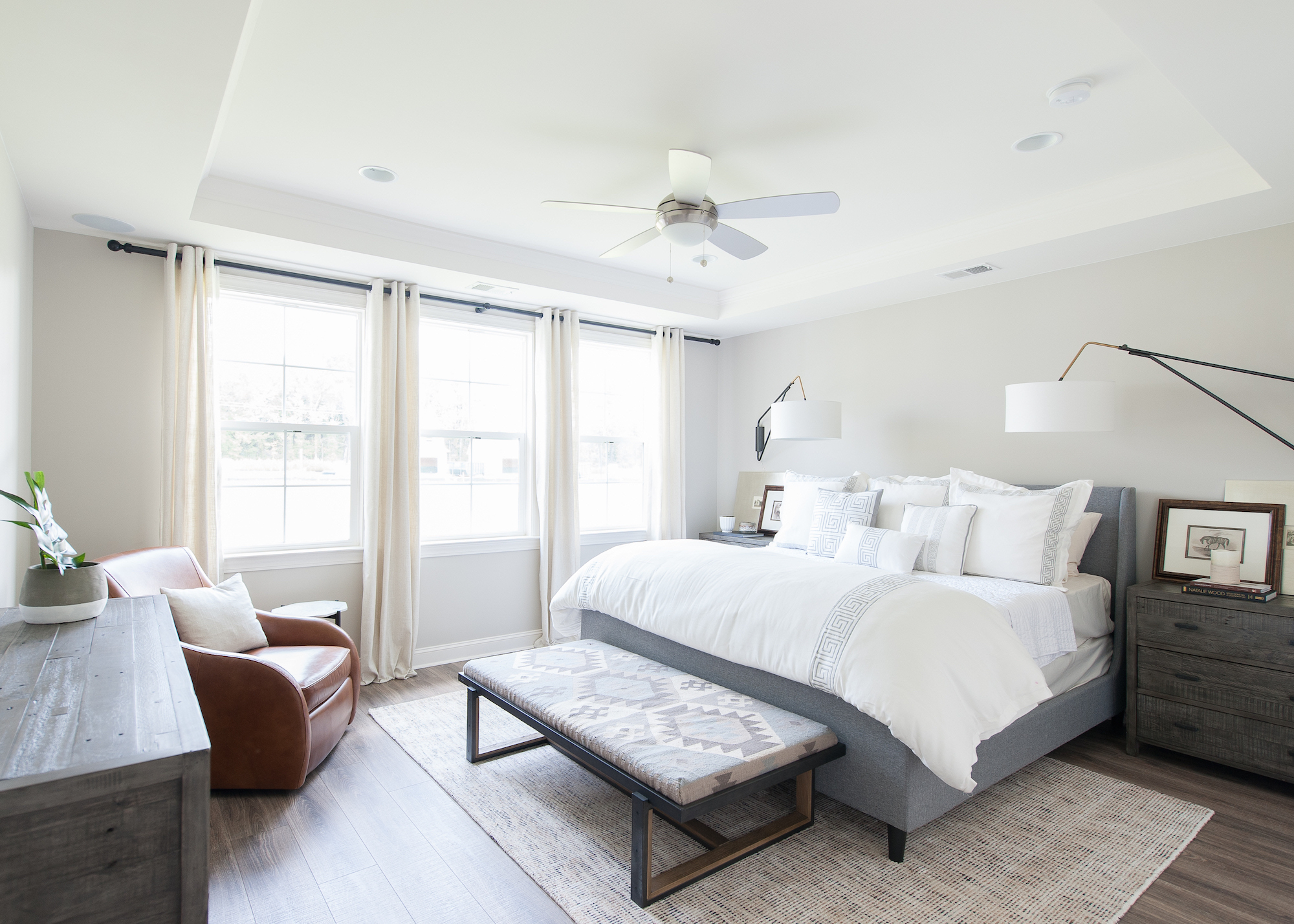 Crescent Homes Hunters Bend Master Bedroom