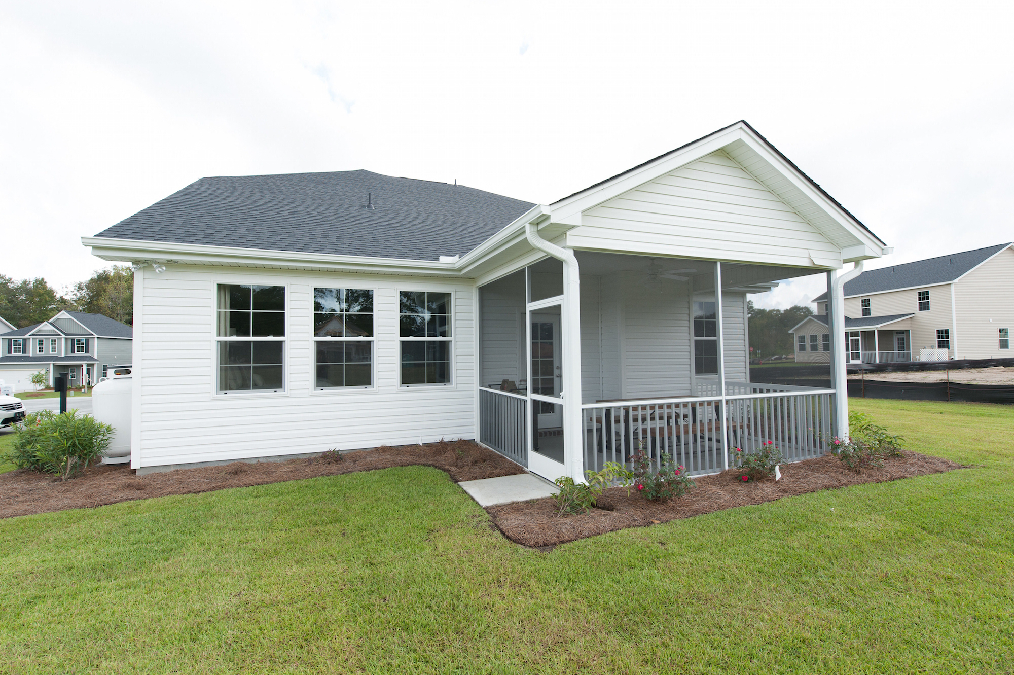 Crescent Homes Hunters Bend Summerville Porch