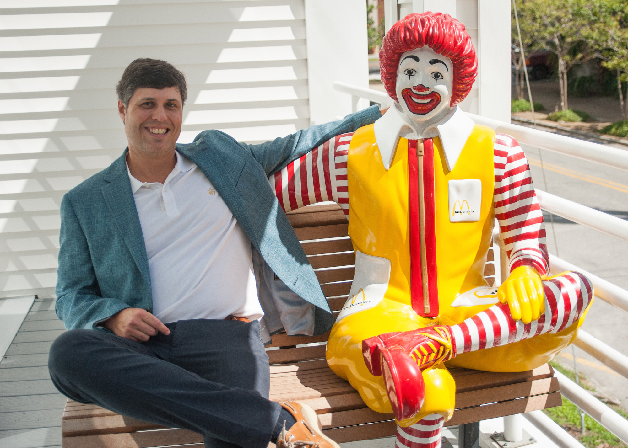 Crescent Homes Ted Terry GIVE Ronald McDonald House